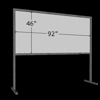 4' x 8' Horizontal Poster Board