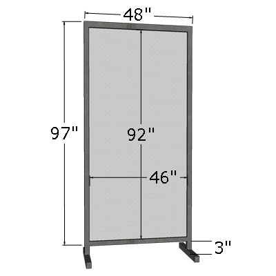 4' x 8' Vertical Poster Board